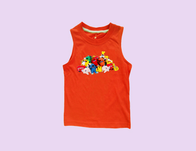 kids sleeveless manufacturer in tirupur