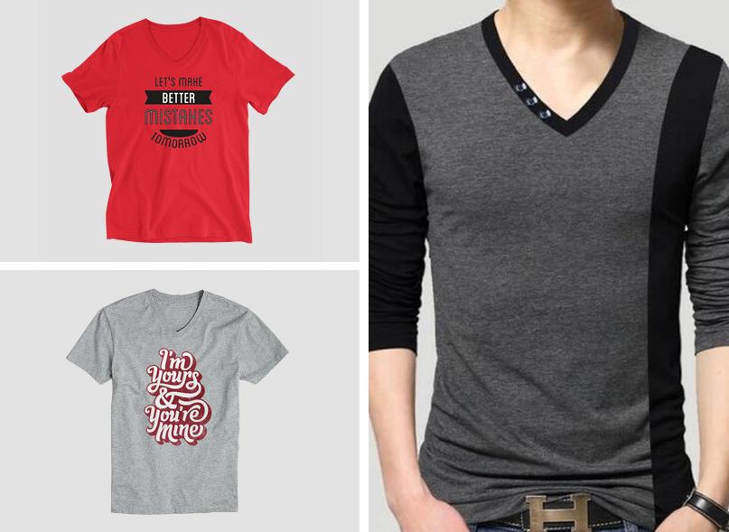 v neck t shirt manufacturer in tirupur